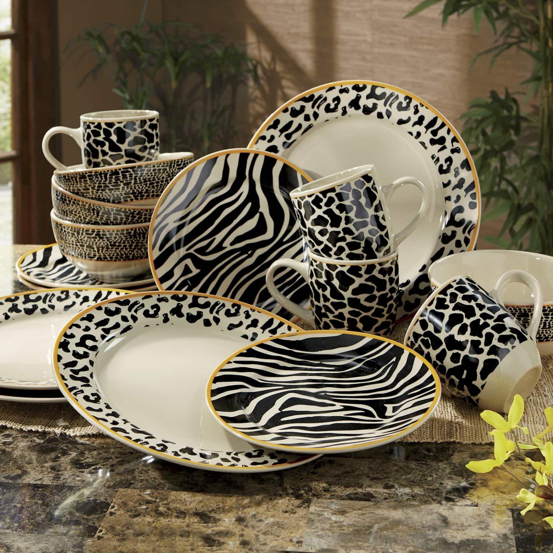 Zambia Safari Dinnerware Dinnerware Safari Home Decor