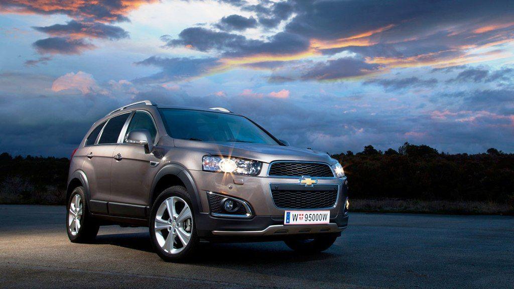 2016 Chevrolet Captiva Chevrolet Captiva Chevrolet Captiva