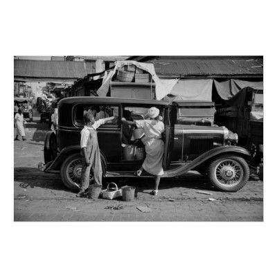 New Orleans Market, 1930s