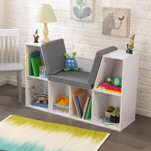 KidKraft Bookcase with Reading Nook Toy, White: Amazon.ca: Toys & Games