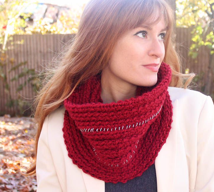 Michael Kors Chain Infinity Scarf [knitting Pattern