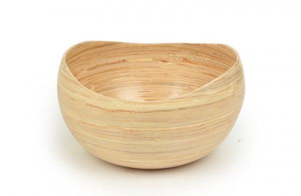 Australian Gift Wooden Salad Bowl for Kitchen Decor Bamboo Fruit Bowl