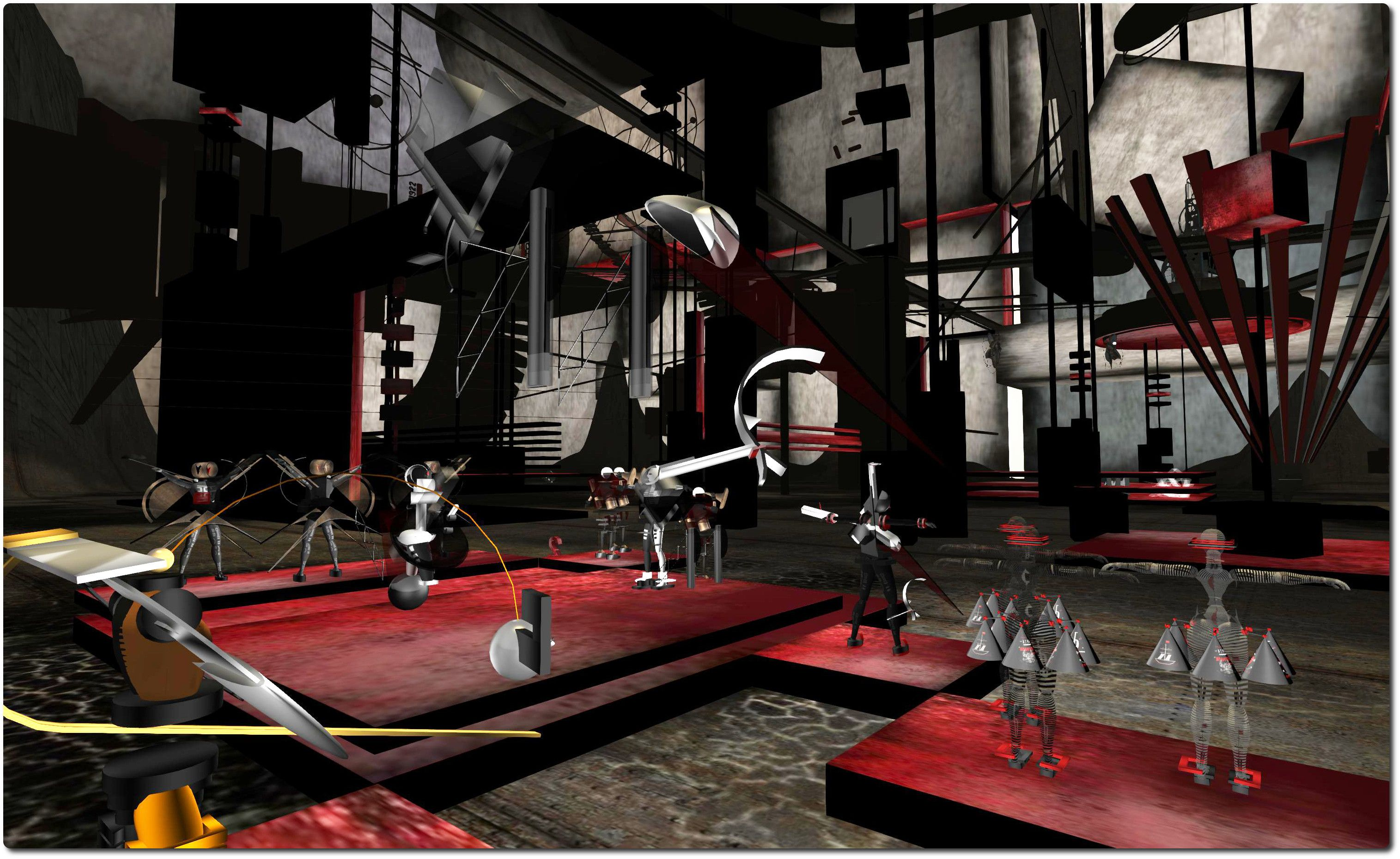 The Virtual Reality Of The Russian Avant Garde Russian Avant