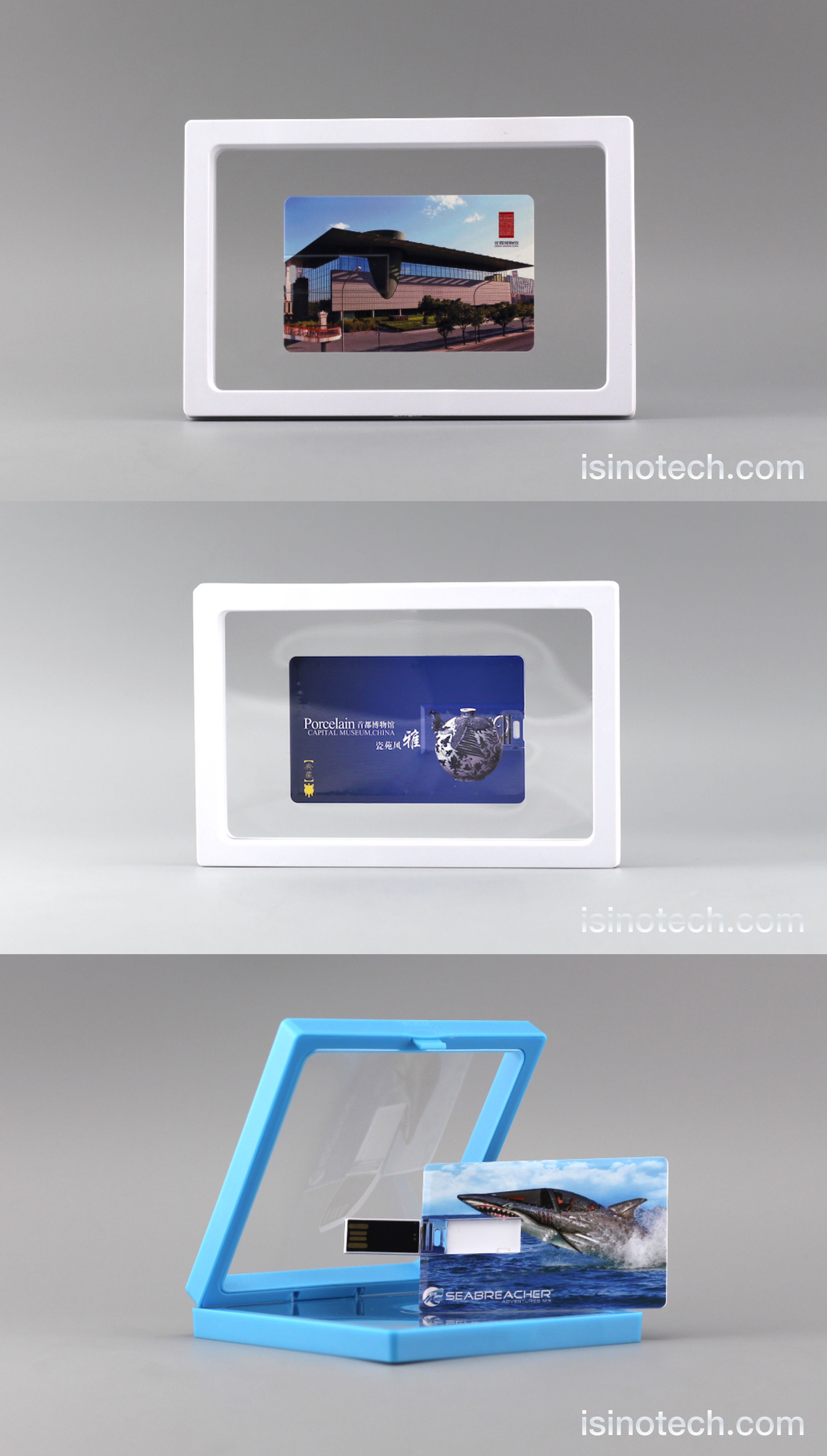 Credit card sized USB flash drive, packed in frame box #USB ...