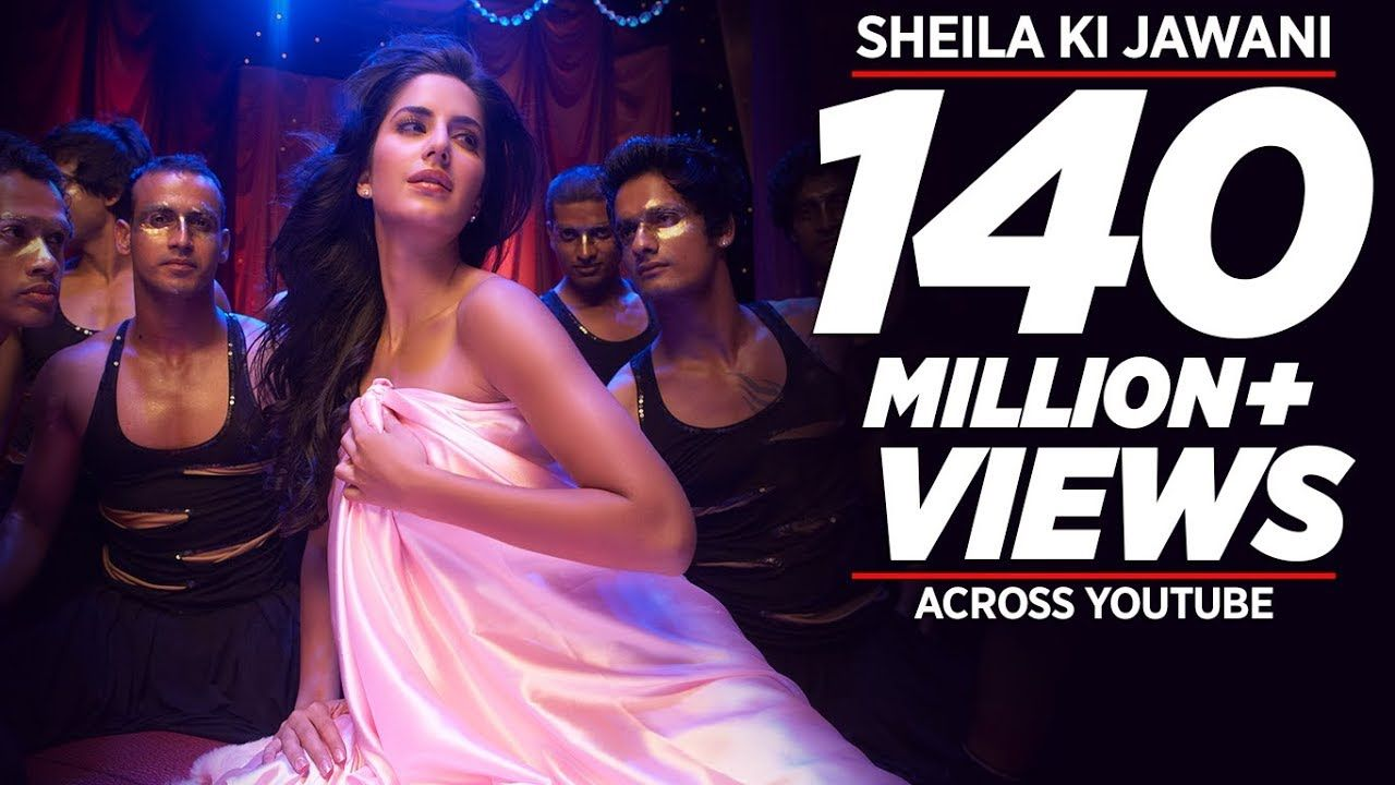 Sheila Ki Jawani Full Song Tees Maar Khan With Lyrics Katrina Kaif Youtube Tees Maar Khan Bollywood Music Videos Dj Movie