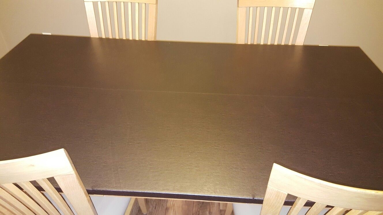 Table makeover-after