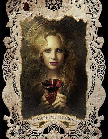 Caroline Forbes, Vampire Diaries Season 4 Poster