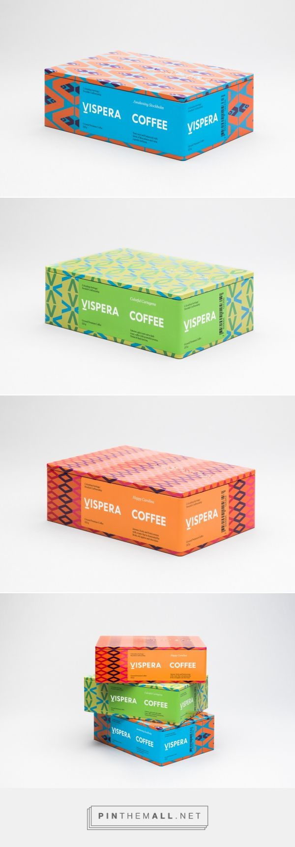 New Packaging for Víspera Coffee by SDL