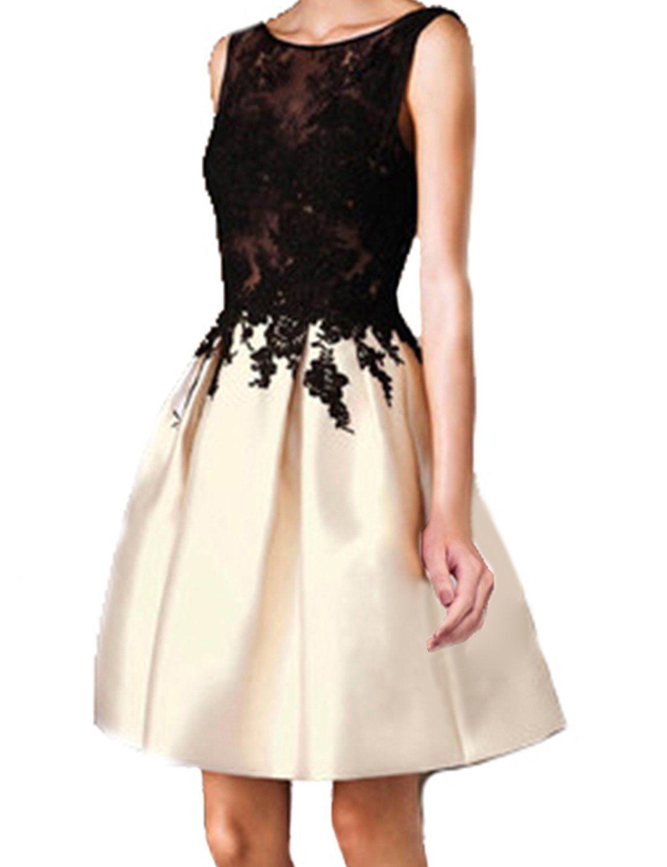Lovingdress womenus homecoming dress satin seethought open back