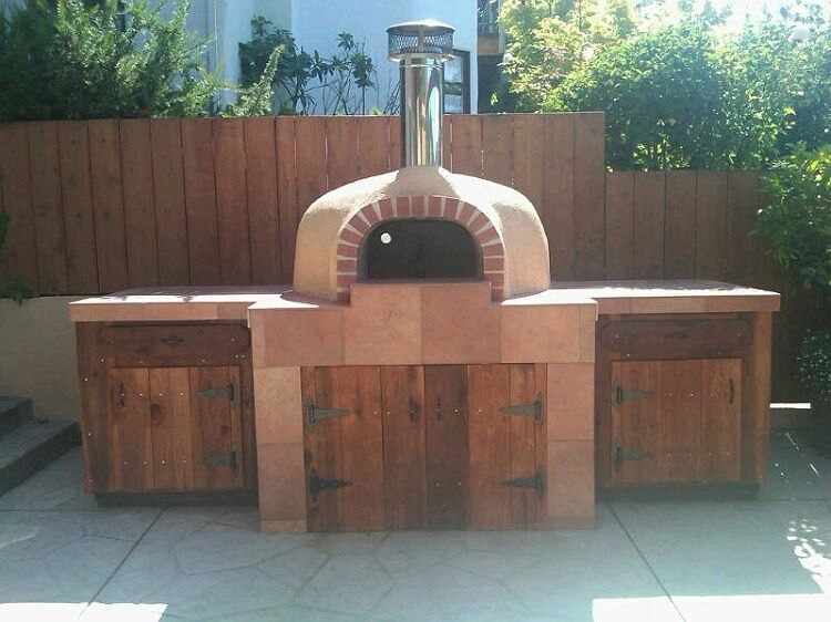 forno bravo stucco wood fired oven outdoor pizza oven pizza oven for