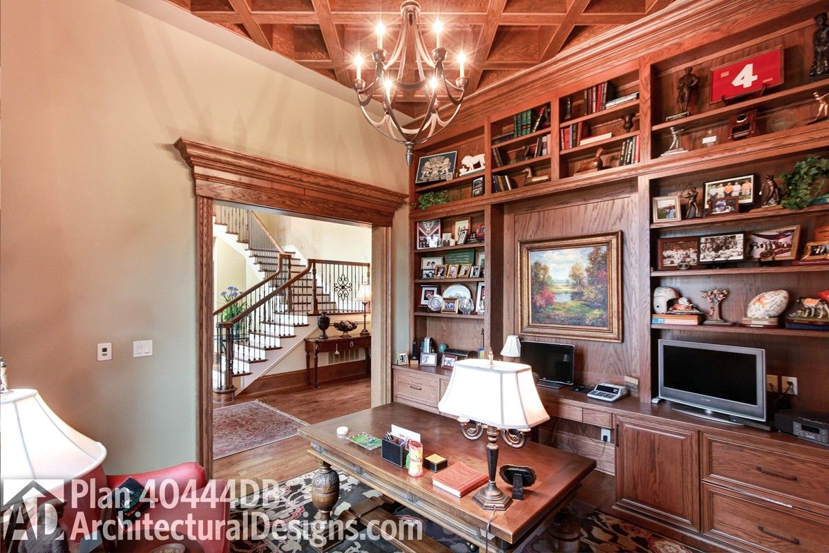 Architectural Designs Luxury House Plan 40444DB comes to life in Tennessee