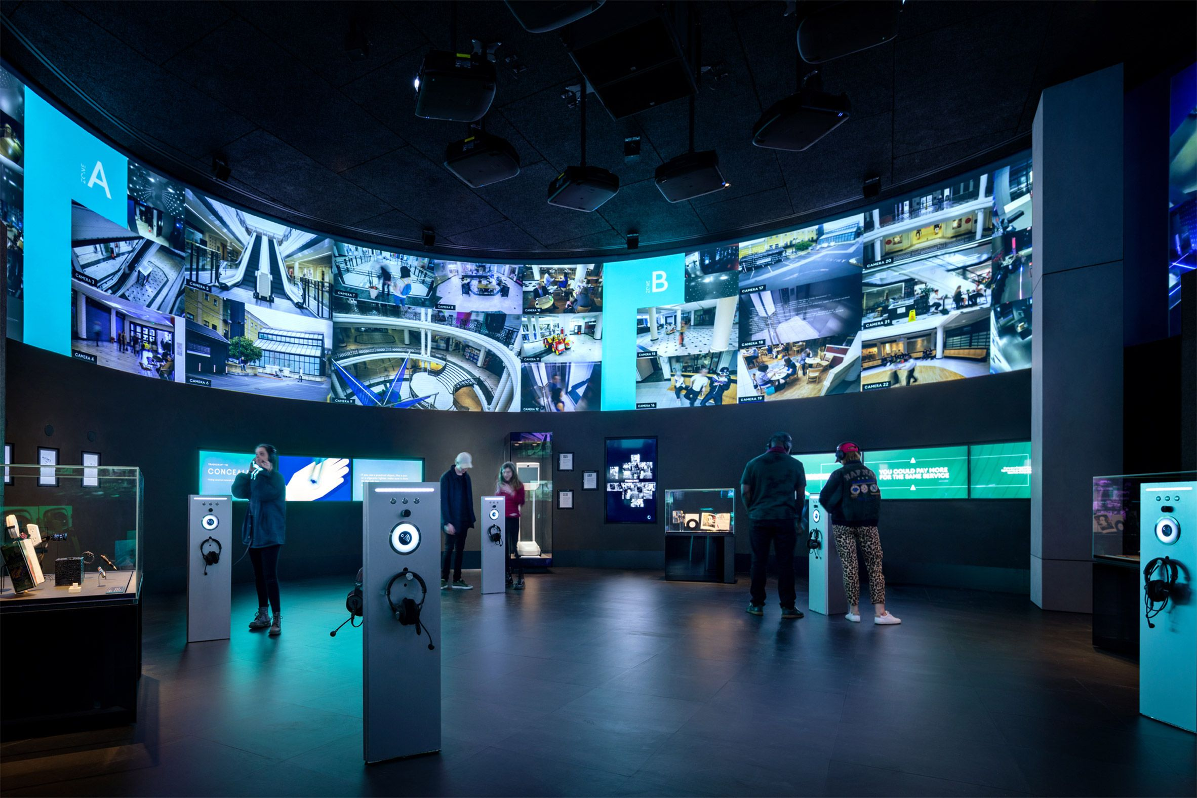 Opening today, the interactive Spyscape museum occupies a renovated ...