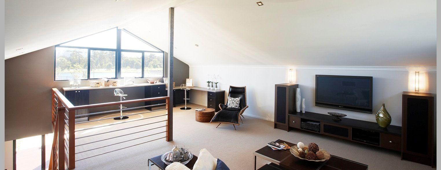 The Connoisseur | Ventura Homes LOVE THE IDEA OF A LOFT SPACE ...