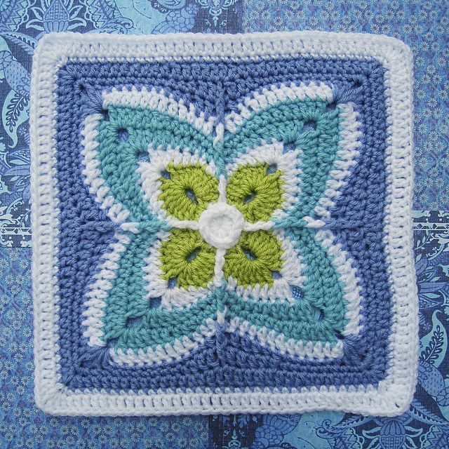 Ravelry: Firenze Afghan Block pattern by Julie Yeager   crochet ...