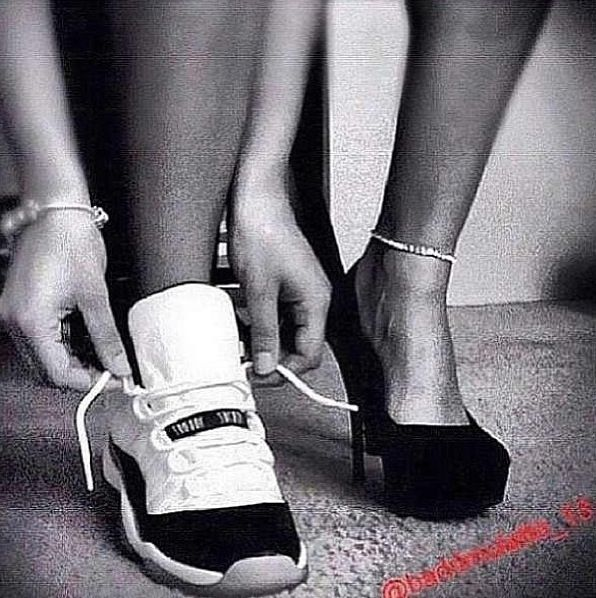 Sneakers, Heels