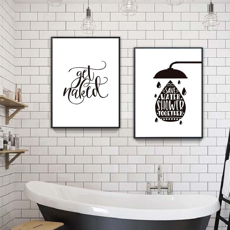 Wash Your Hands Print Painting Funny Bathroom Quotes Canvas Poster Black And White Prints Toilet Typography Pictures Wall Decor In 2020 Wall Art Canvas Painting Wall Decor Pictures Canvas Art Wall Decor