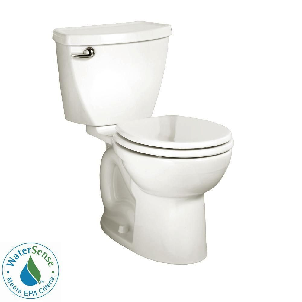 American Standard Cadet 3 Tall Height 2 Piece 1 28 Gpf Single Flush Round Toilet With Slow Close Seat In White 3377128st 020 American Standard Toilet Commercial Toilet