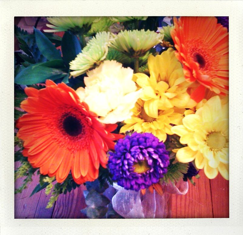 my birthday bouquet