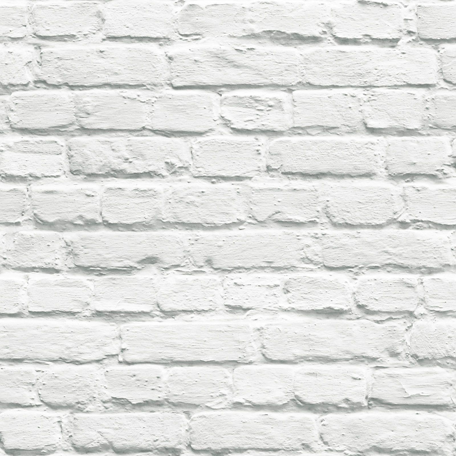 White Brick Effect Wallpaper 5 Styles Feature Wall New  ~ Papel De Pared Imitacion Ladrillo
