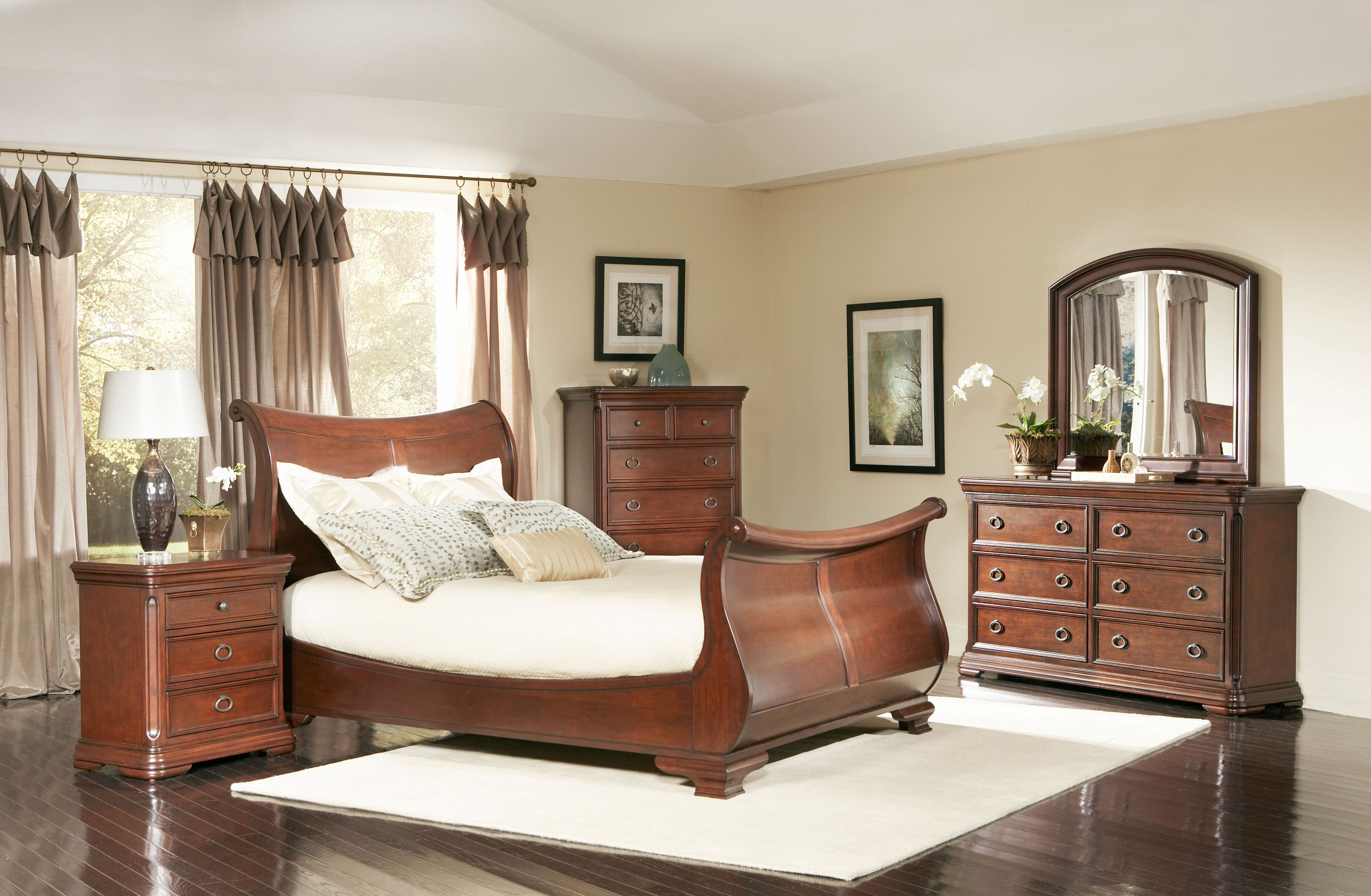 Largo Furniture Marseille French country style bedroom