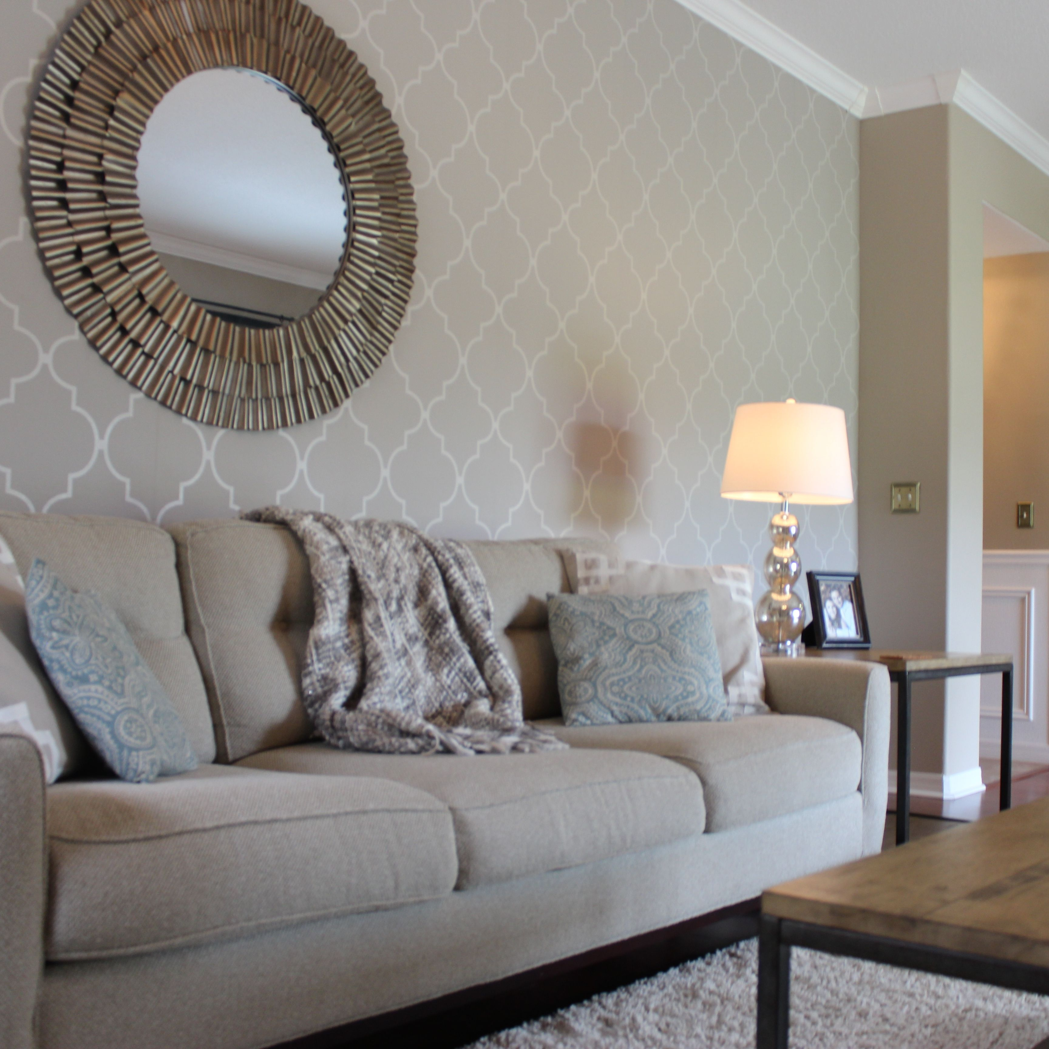 Let Us Move On To Those Accent Wall Ideas That Will Help You Redesign Your S Wallpaper Living Room Accent Wall Feature Wall Bedroom Accent Walls In Living Room Living room accent wallpaper