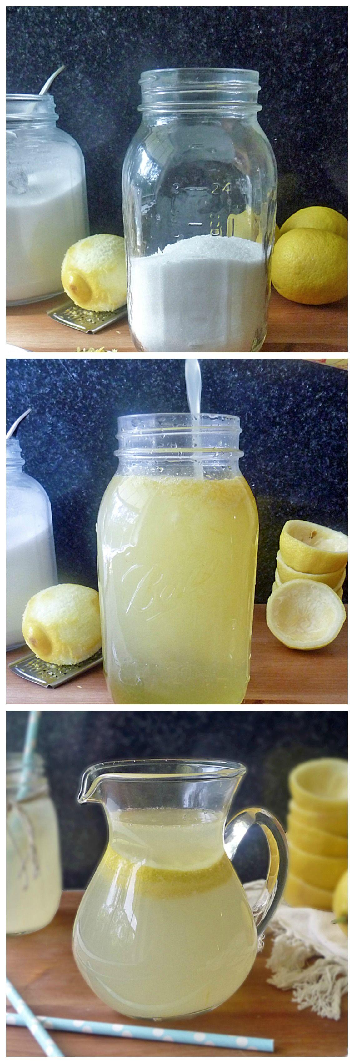 How to make lemonade at home