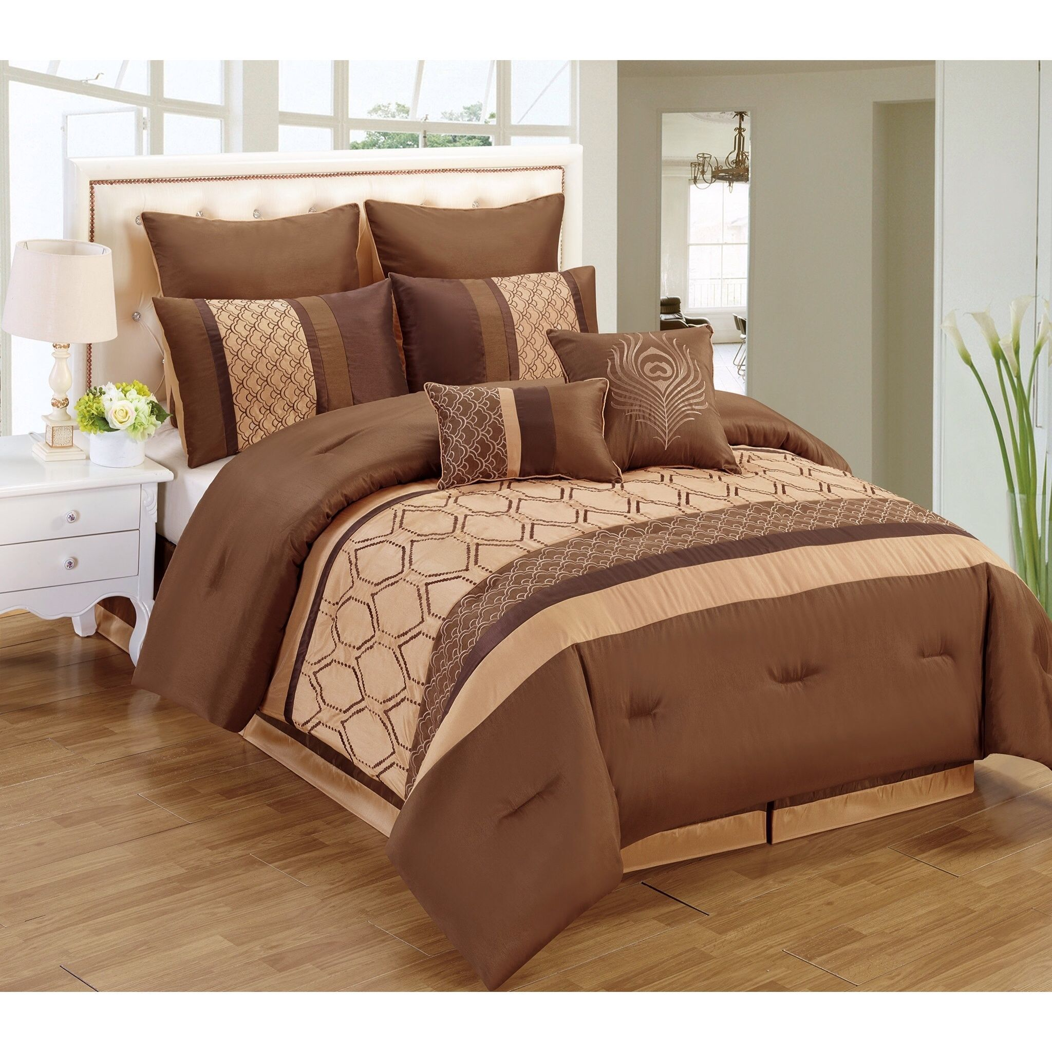 Overstock Com Online Shopping Bedding Furniture Electronics Jewelry Clothing More Comforter Sets Contemporary Bedroom Duvet Bedding Sets
