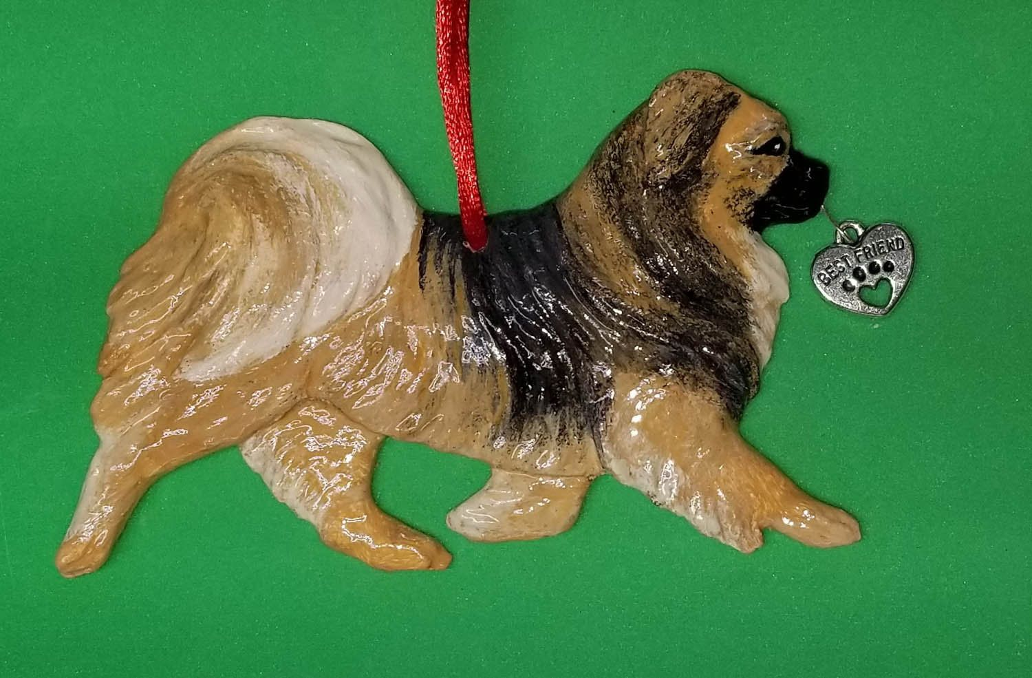 Tibetan Spaniel Dog Ornament/Hot Diggity Dog/Home and