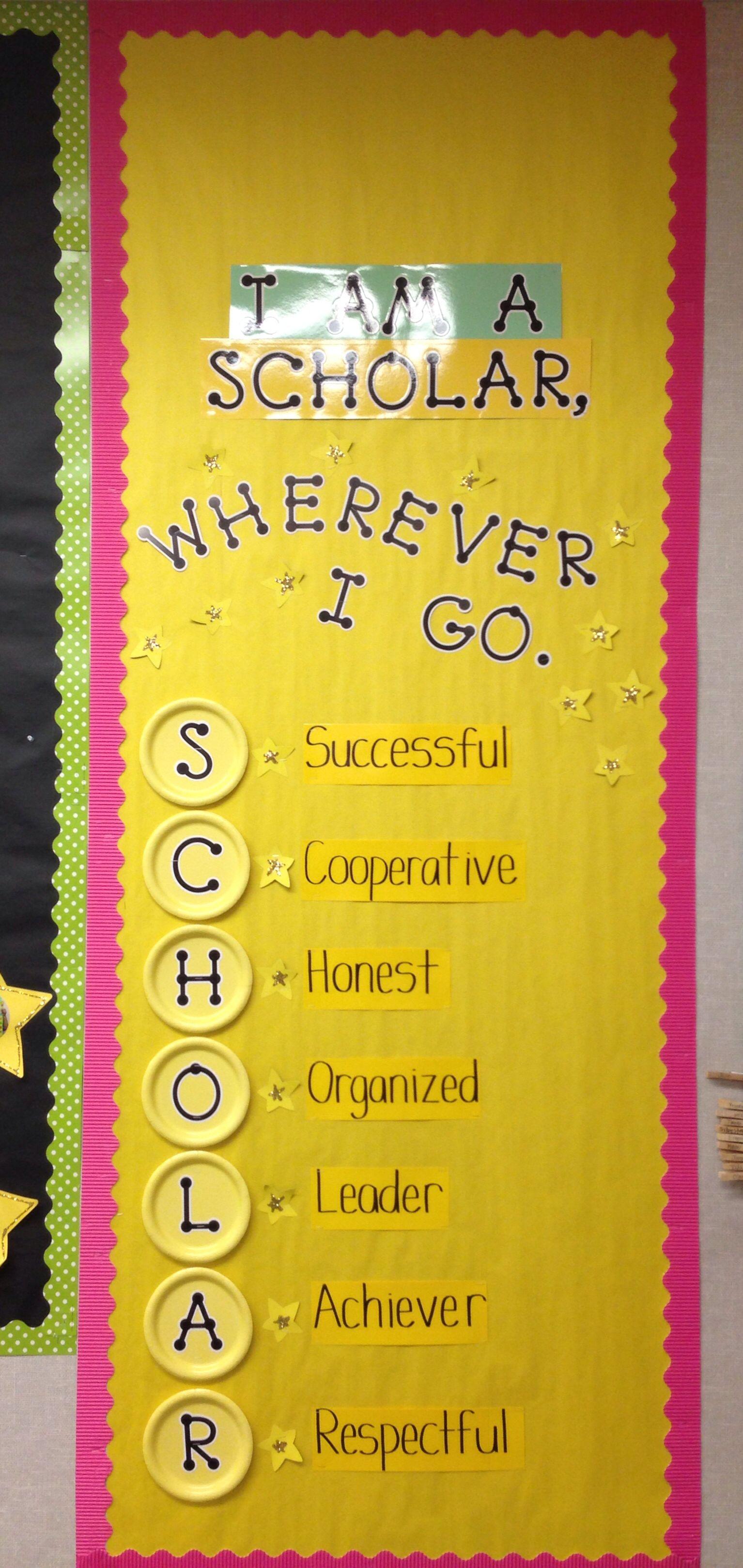 Guidelines For Success Champs Classroom School Classroom Classroom Door