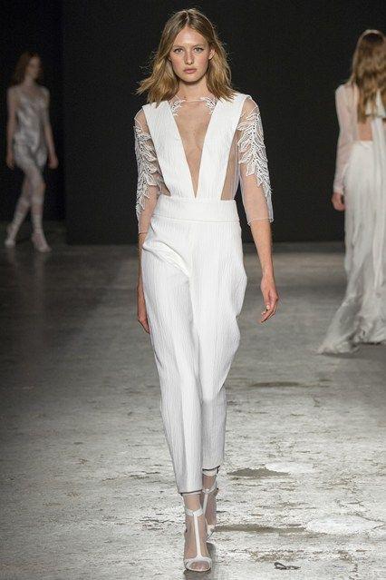 Milan Fashion London Day 1 Francesco Scognamiglio Spring/Summer 2015 Ready to wear 17 September 2014