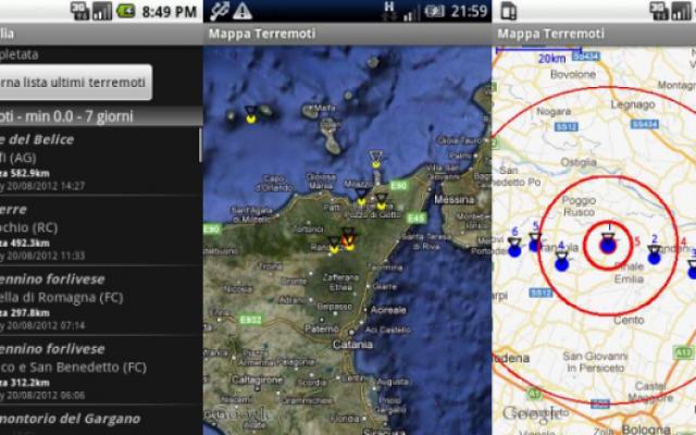 Terremoto Puglia: scarica l'App per restare Aggiornato in Tempo Reale! #terremoto #puglia