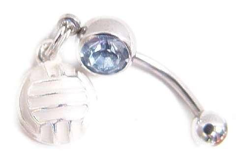 volleyball belly button rings - Bing Images