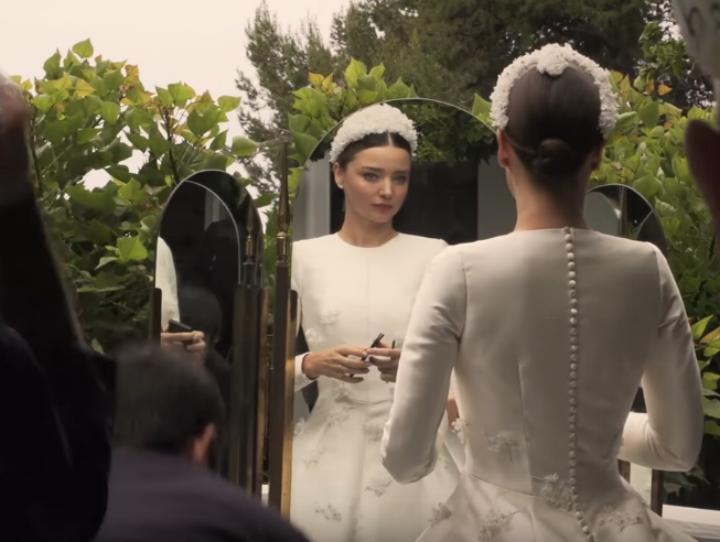 Miranda Kerr S Wedding Dress Proves To Be Worth Waiting For