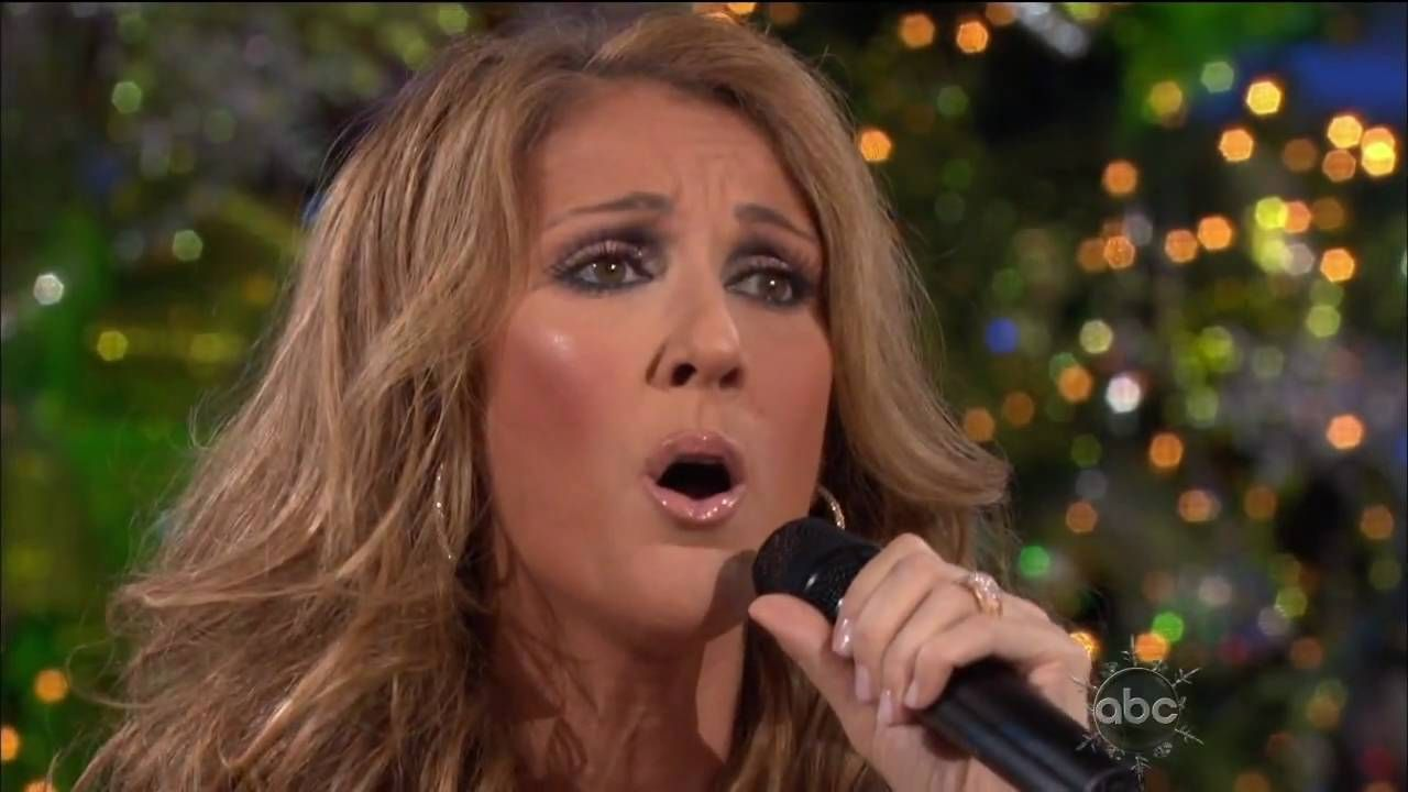 Celine Dion Adeste Fideles O Come All Ye Faithful Disney Parks Christmas Day Parade Hd Christmas Day Parade Celine Dion Disney Parks