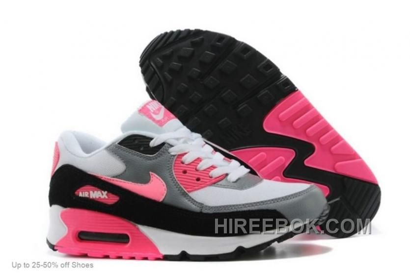 sports shoes de911 e82e8 Cheap Nike Air Max, Nike Free Run Online Shop Womens Nike Air Max 90  Essential White Pink Glow Cool Grey Wolf Grey Sneakers  Nike Free 2014 -