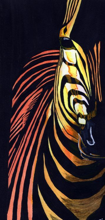 Peinture Animaux Zebre Peinture Zebre Art Zebre Peinture Africaine
