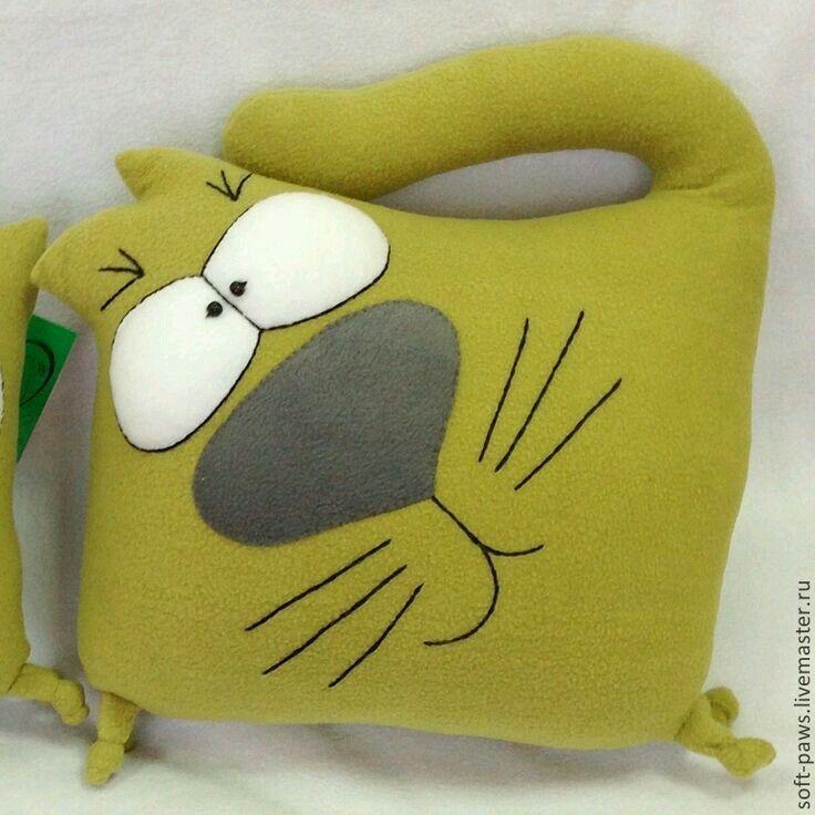 Животные игрушки из ткани своими руками