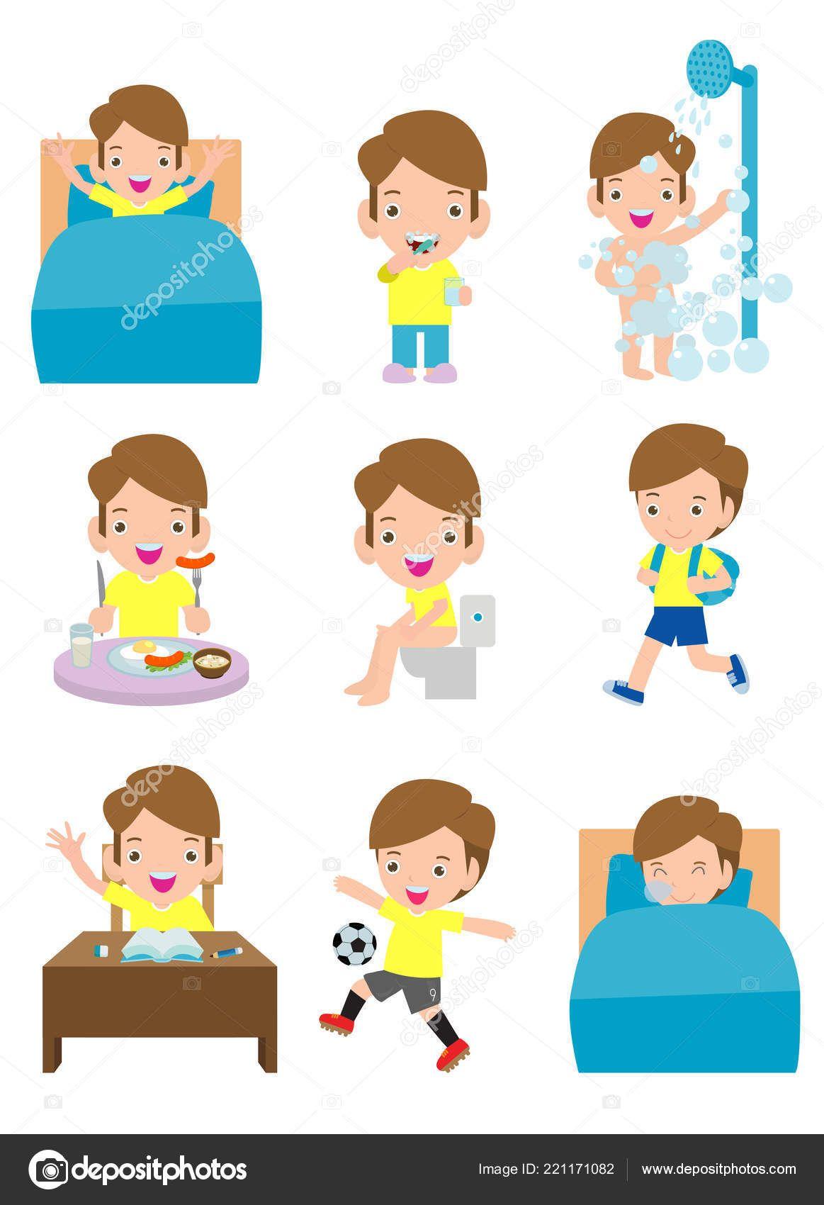 Actividades Rutina Diaria Para Ninos Con Chico Lindo Rutinas