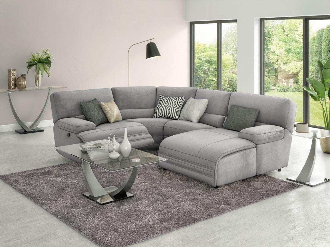 Kneller Recliner Corner Harveys Furniture In 2020 Corner Sofa Living Room Recliner Corner Sofa Living Room Sofa