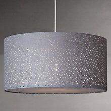 Buy John Lewis Easy To Fit Alice Starry Sky Ceiling Shade Slate