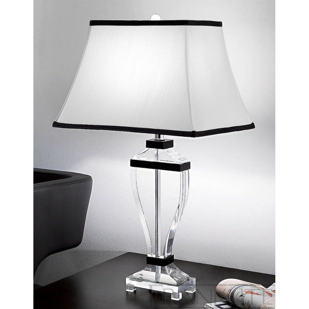 Luxury Lighting Proudly Presents Franklite Lightings Hugo Collection Of  Table And Floor Lamps. A Stunning Range Of Heavy Crystal Table Lamps With  Off White ...