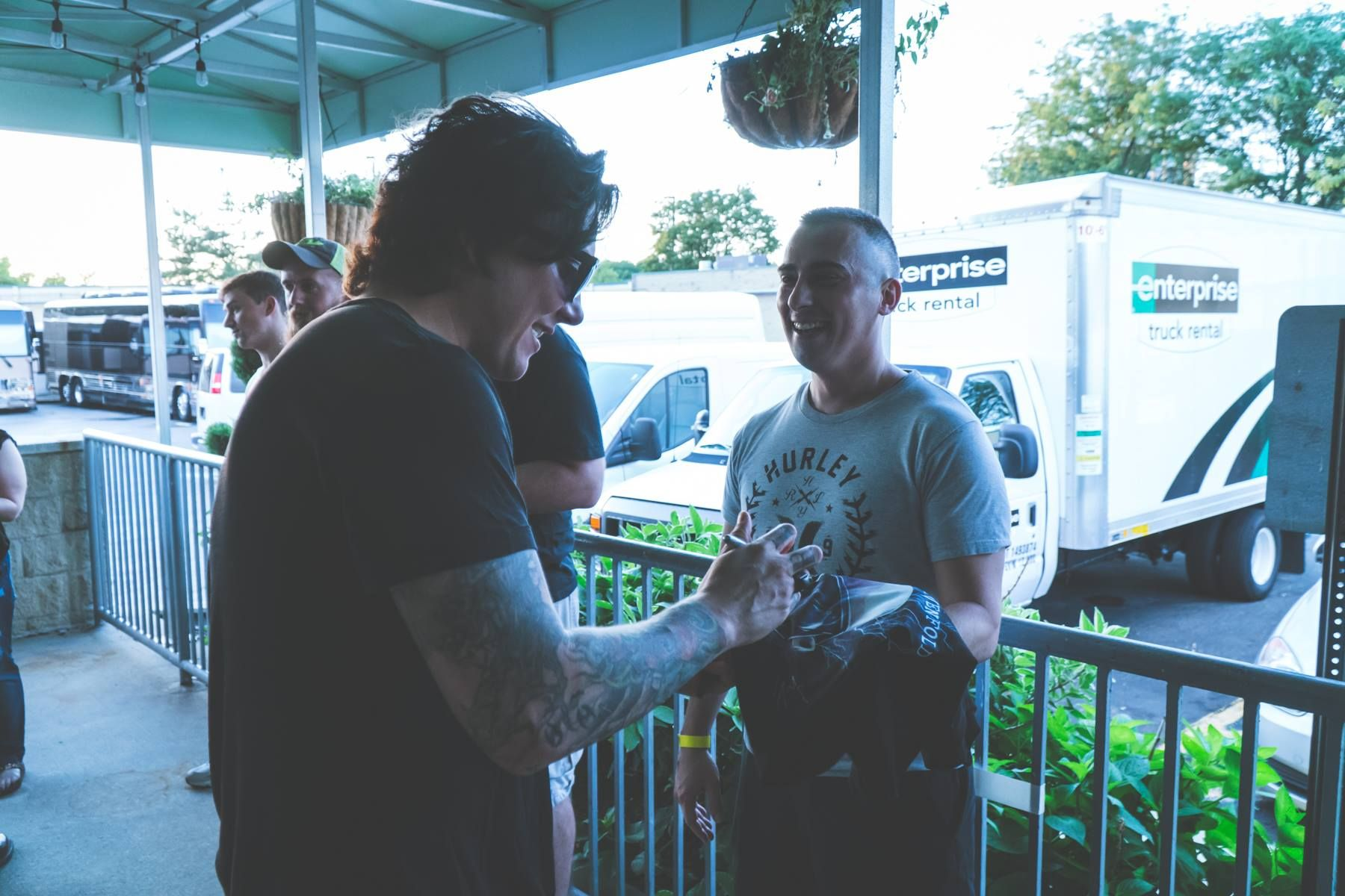 Meet And Greet 2017 Synyster Gates Pinterest Synyster Gates