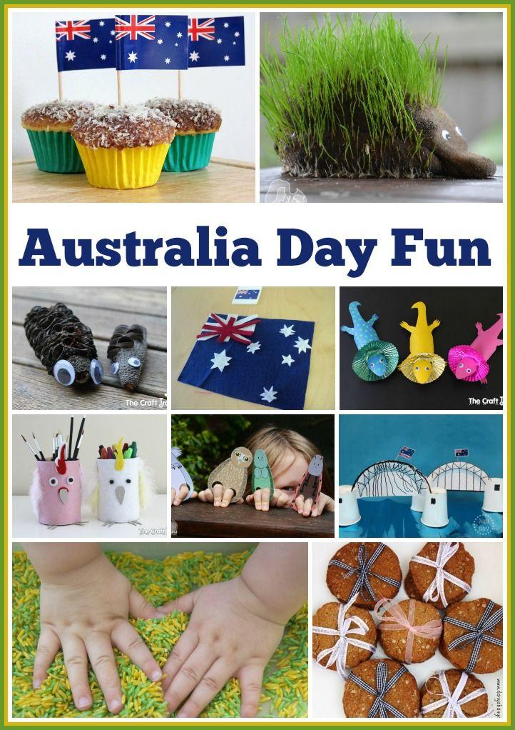 20 Ideas For Australia Day Crafty Fun Daycare Australia Crafts