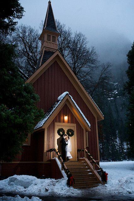 Yosemite Wedding Chapel