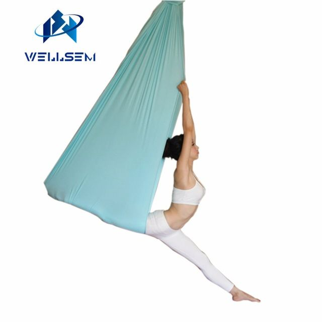 Medium image of cheapest price  43 65 buy 5 meter top quality flying yoga anti gravity yoga hammock