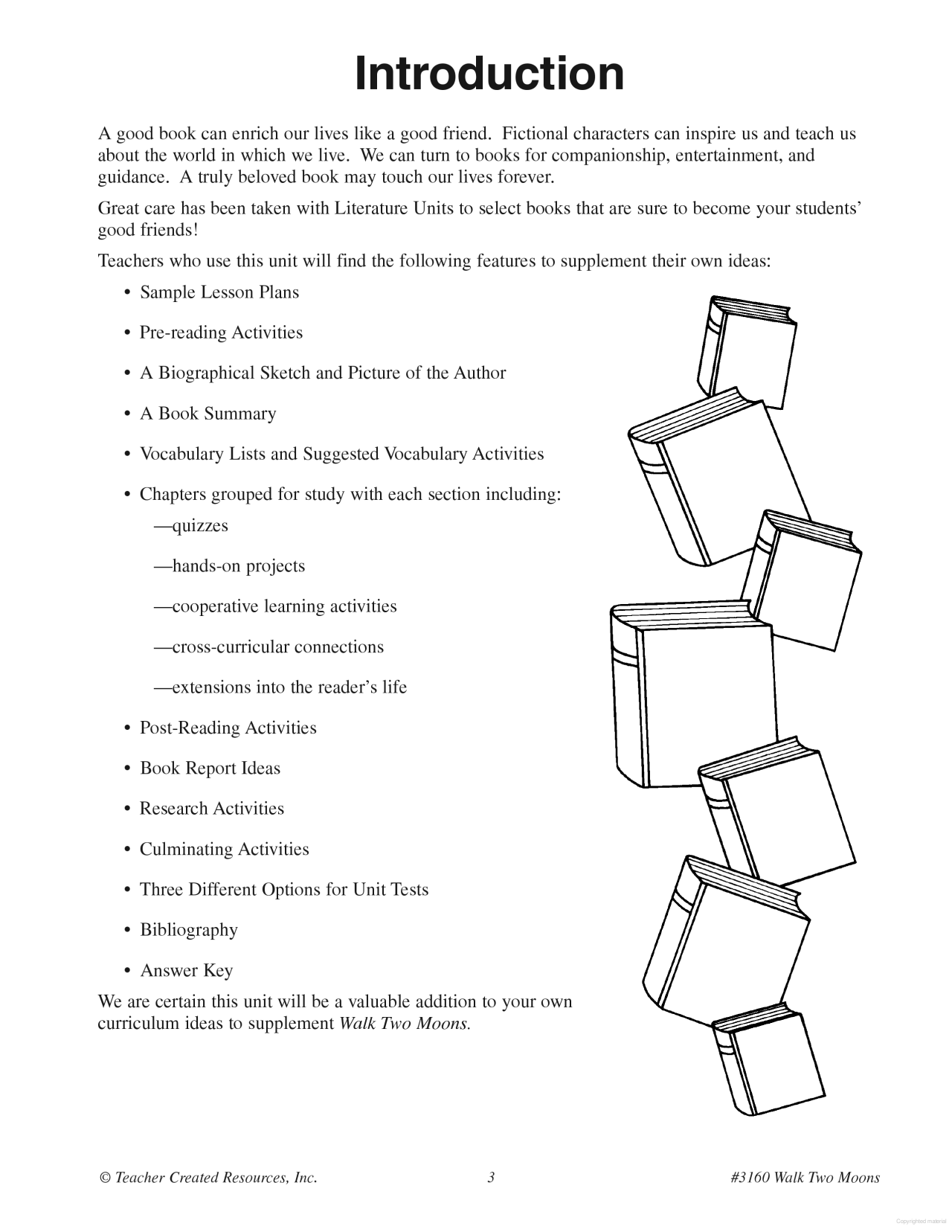 Worksheets Walk Two Moons Worksheets intro to book a guide for using walk two moons in the classroom classroom