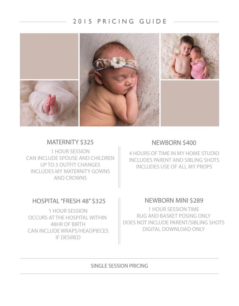 Newborn photography package prices google search
