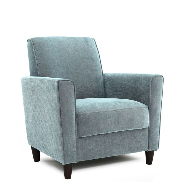 Enzo Solid-colored Accent Chair Chairs Pinterest Furniture