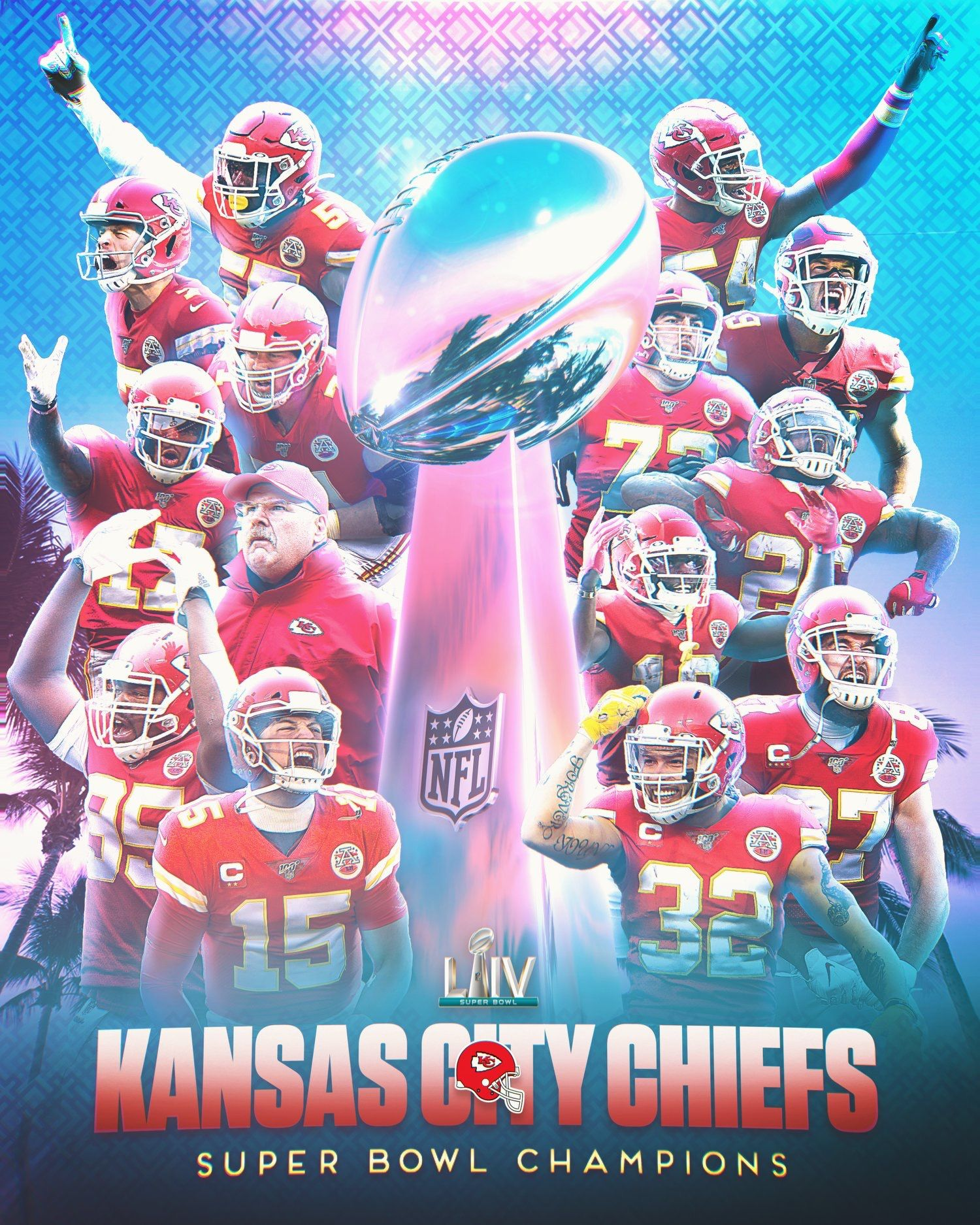 Kansas City Chiefs Super Bowl Liv Champions In 2020 Kansas City Chiefs Logo Chiefs Super Bowl Kansas City Chiefs Football