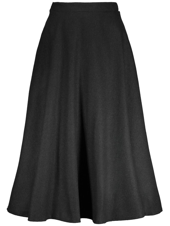 36243e79805 Zaful Elegant High-waisted Full Circle Skirt - Black price from jumia in  Nigeria - Yaoota!